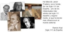 Se nos ha muerto Javier Pradera (1)