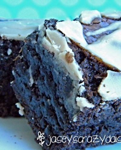 Mocha Coconut Creme Brownies