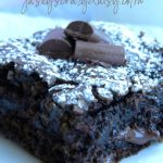 Chocolate Chunk Zucchini Brownies