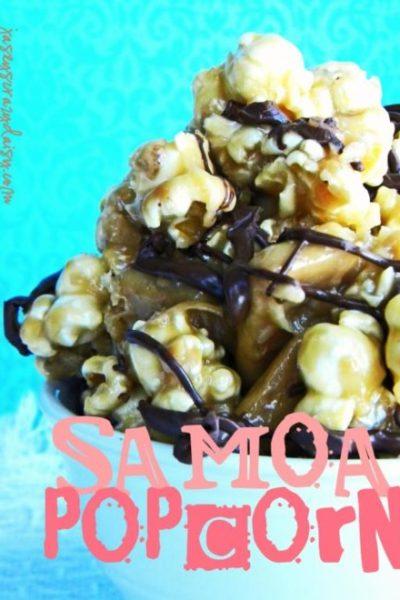 Chewy Samoa Caramel Corn