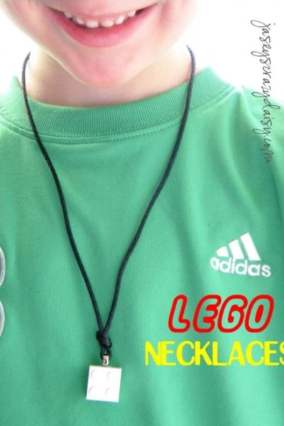 How To Make Easy Lego Necklaces