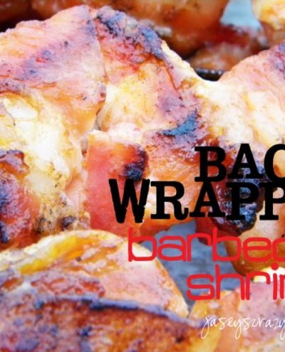 Bacon Wrapped Shrimp {& Heinz Ketchup Care Package FLASH Giveaway}
