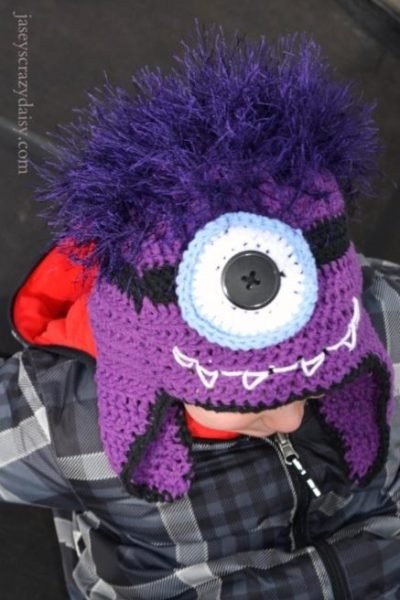 Cute Monster Minion Hat