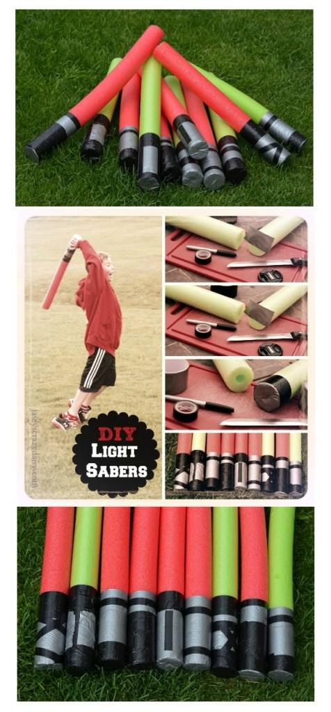 DIY Light Saber Pin