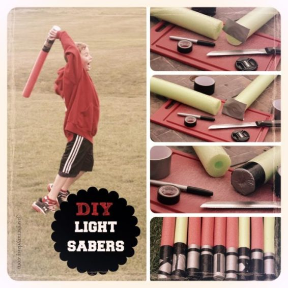 Easy DIY Light Sabers