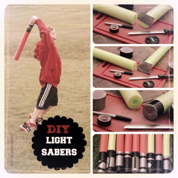 Easy DIY Light Sabers