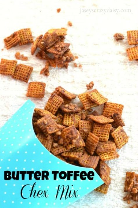 Butter Toffee Chex Mix