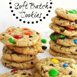 Homemade M&M Soft Batch Cookie