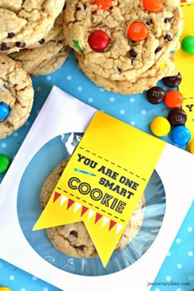 One Smart Cookie Printable CD Envelope Tag