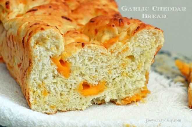 Garlic Cheddar Bread