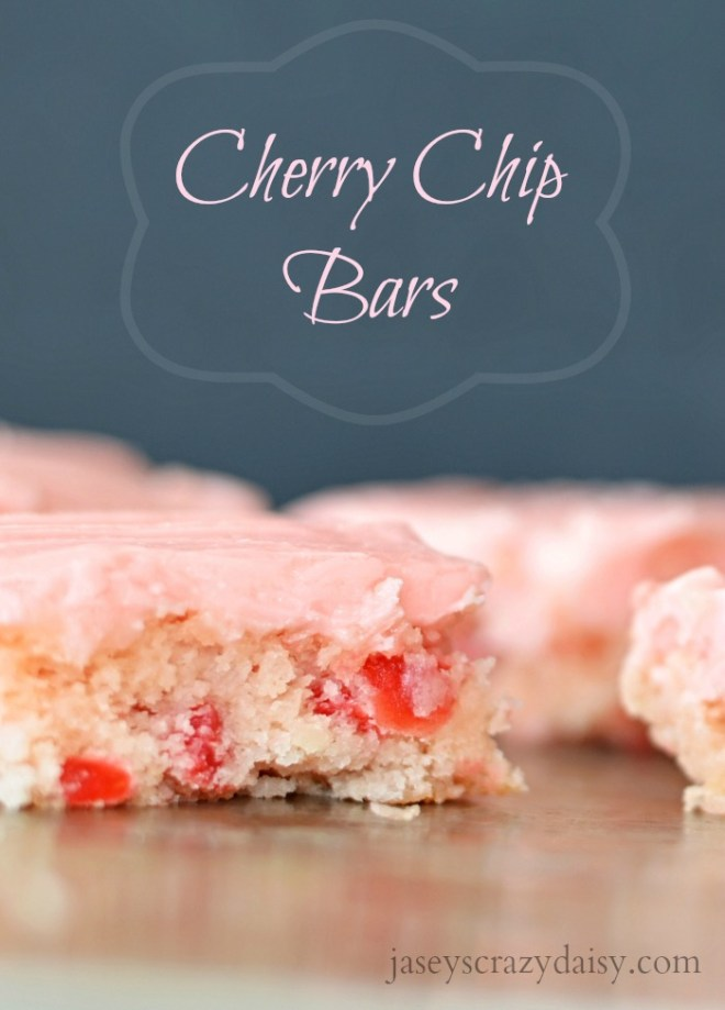Cherry Chip Bars