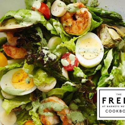 Palm Beach Shrimp Salad with Green Goddess Dressing