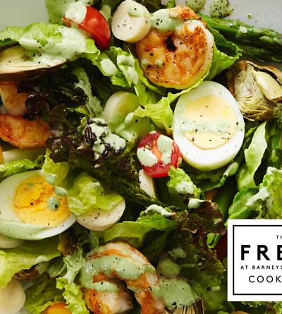 Palm Beach Shrimp Salad with Green Goddess Dressing (Cookbook  Giveaway)
