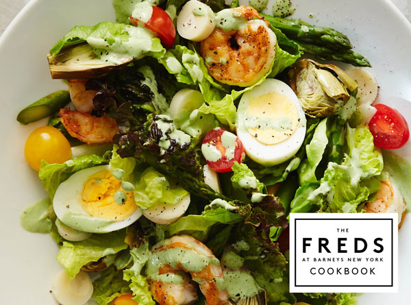 Palm Beach Shrimp Salad with Green Goddess Dressing