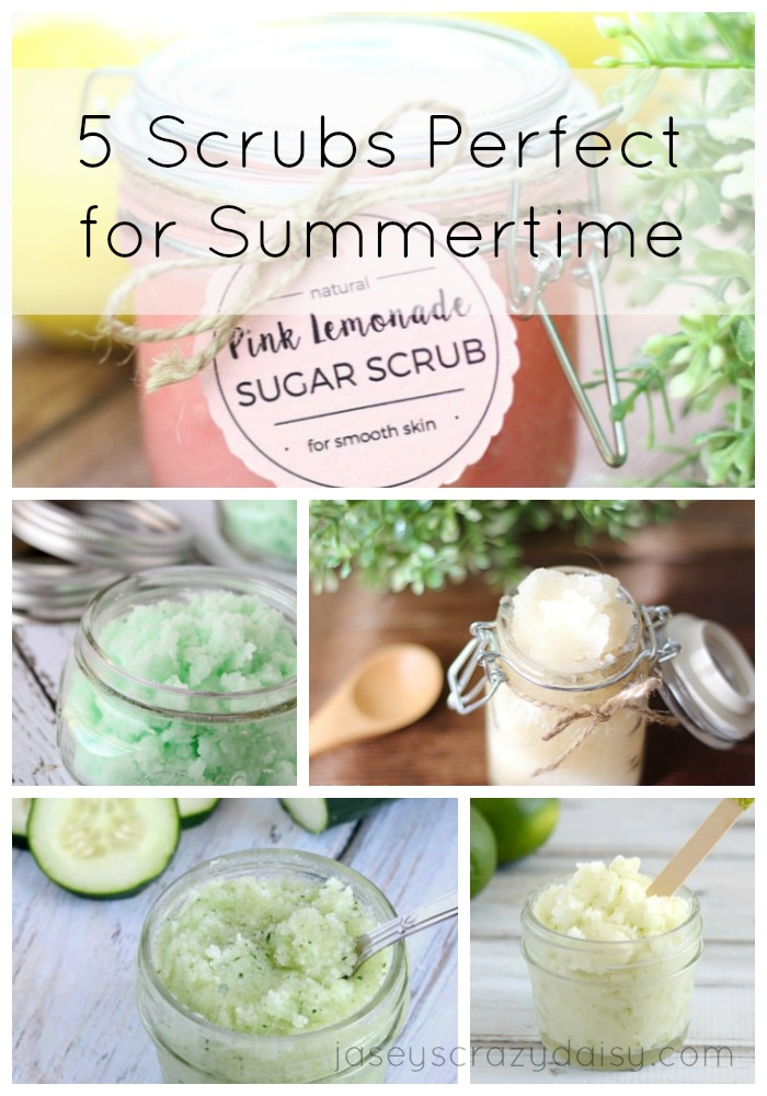 5 Sugar Scrubs Perfect for Summertime