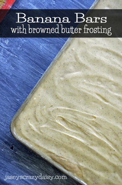 Banana Bars with Browned Butter Frosting