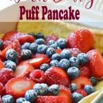 Wild Berry Puff Pancake