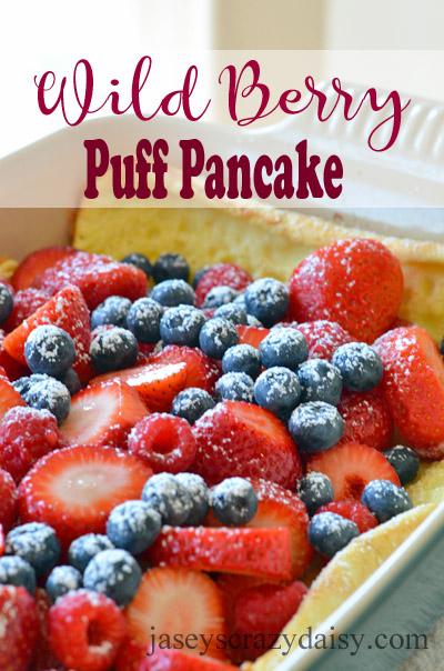 Wild Berry Puff Pancakes