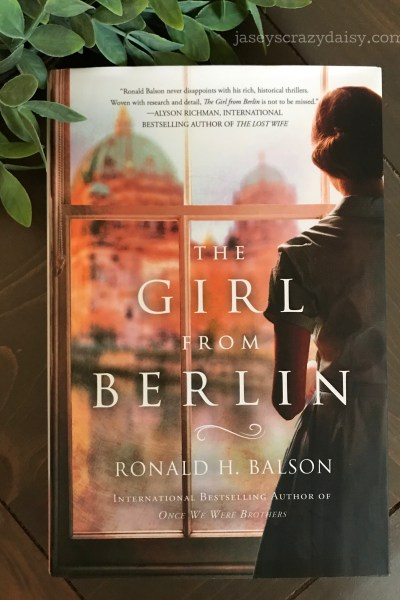 The Girl From Berlin (Book Club Giveaway)