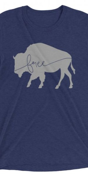 Roam Free Bison T-shirt