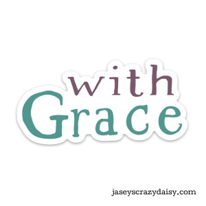 With Grace Decals