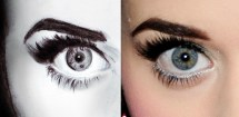 Katy Perry Eyes Drawing