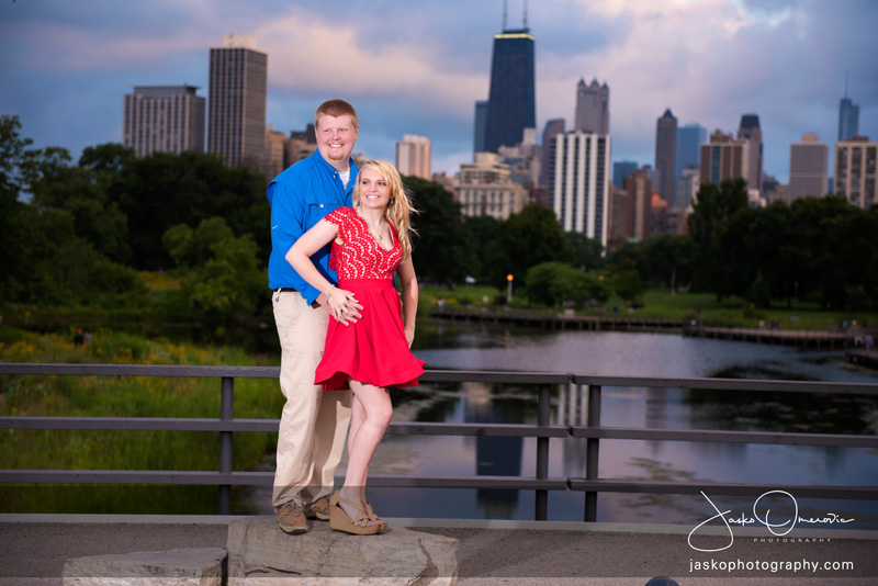 Engagement Session In Lincoln Park