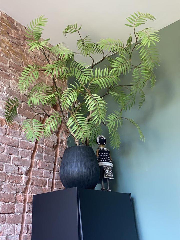 Jasmijnbloembinders - Zijden bladboom met bladtakken plant
