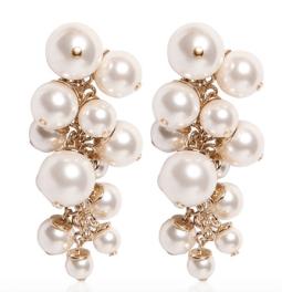Lanvin Pearl Earrings - Luisa Via Roma