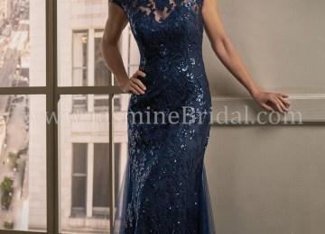 b159d23d4f4 K198011 Long Boat Neckline Sequin Lace W Netting Mob Dress · Mauve ...