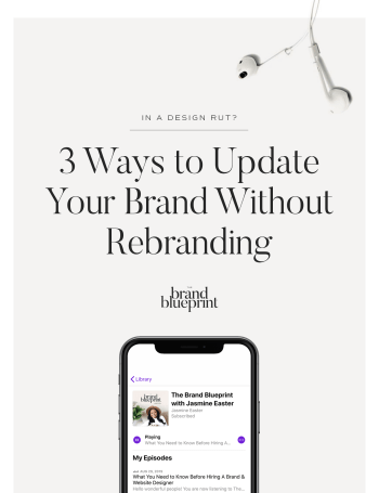 In A Design Rut? 3 Ways to Update Your Brand Without Rebranding