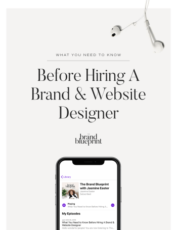 What You Need to Know Before Hiring A Brand & Website Designer