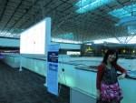 台湾桃園空港。台湾に初めて降り立つ。空港だけね(BOSTON・NY3)