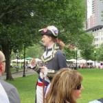 中世の将校と周る?ボストン。フリーダムトレイルツアーその①(Boston・NY#16)