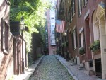 ビーコンヒルの昔ながらの高級住宅街をアメリカかぶれが歩く(ボストン&NY#32)