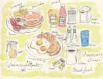 【アメリカかぶれ】ダイナーの朝食