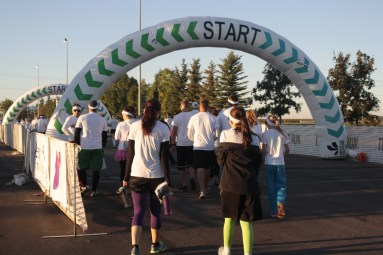 Starting line - Color Run