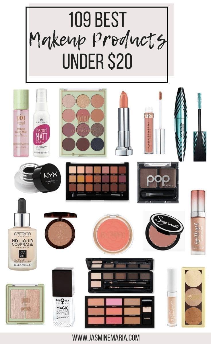 109 Best Makeup Products Under $20 - Jasmine Maria