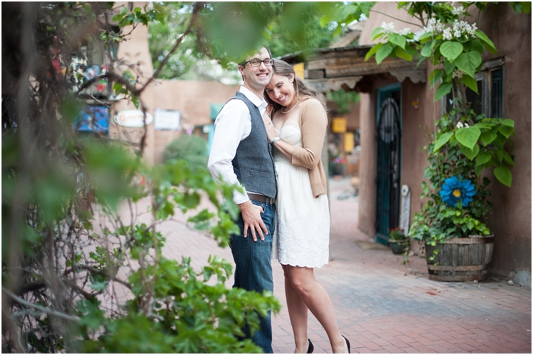 Brian  Lindsay  Old Town Albuquerque Engagement