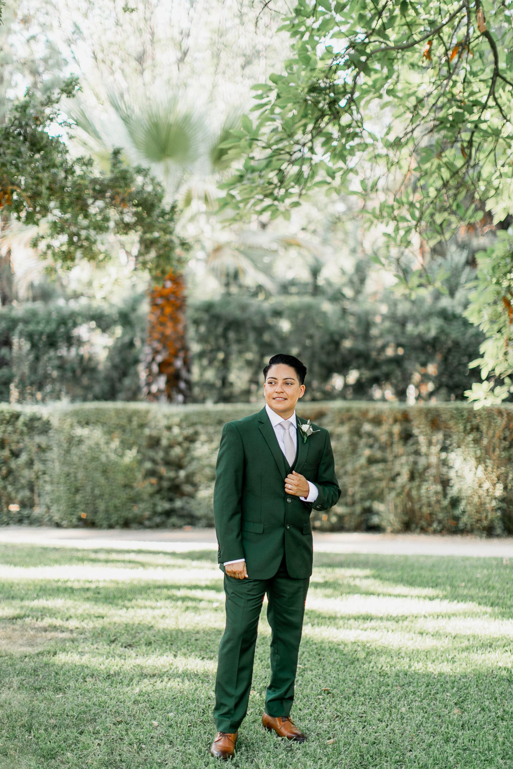 lgbtq wedding suit