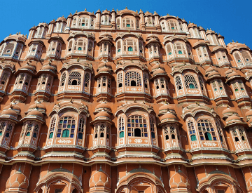 Hawa Mahal in Jaipur, the Pink City