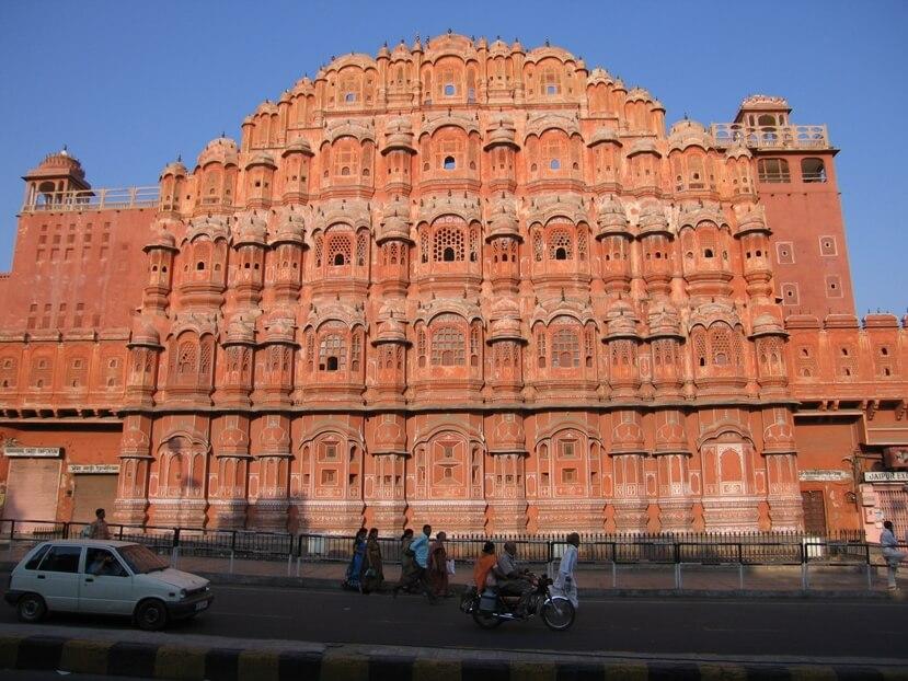 Hawa Mahal at Jaipur part of the Golden Triangle tour