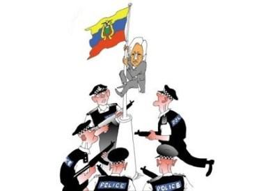 Briten wollen Assange weiterjagen -ohne echten Grund