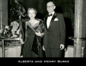Alberta and Henry Burke