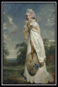 Thomas Lawrence's portrait of Eliza Farren.