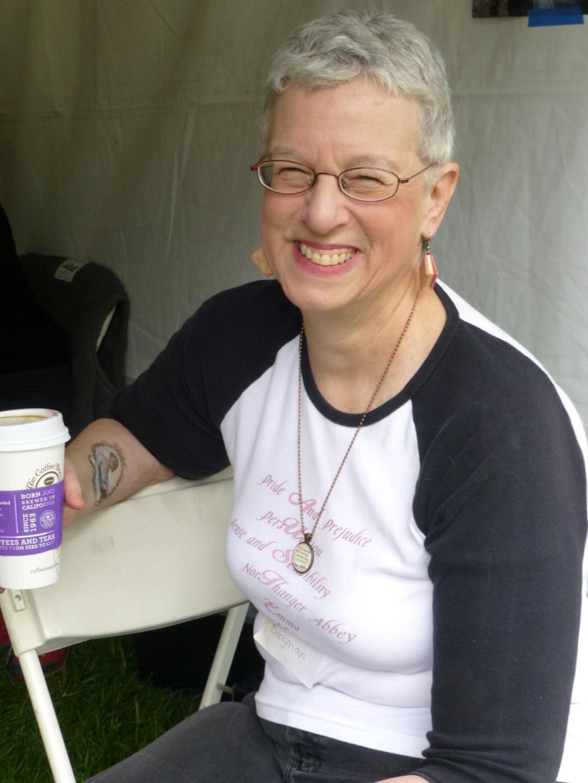 Festival of Books coordinator Emily Bergman