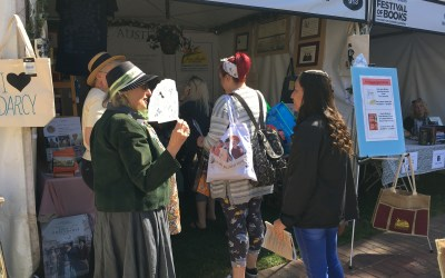 Festival of Books' Booth Breaks Record