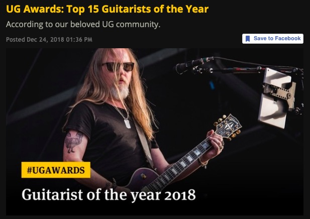 Jason Becker: Top 15 Guitarists of the Year