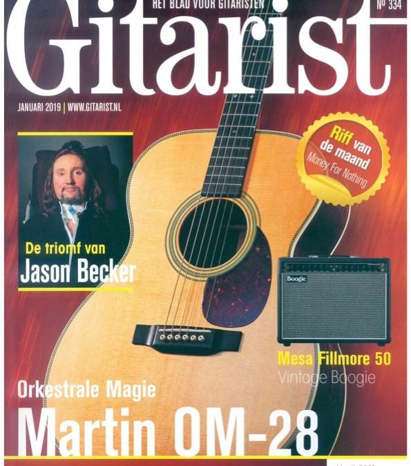 Jason Becker on the Cover of Gitarist Magazine
