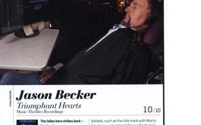 Jason Becker Triumphant Hearts Guitarist Magazine Review – 10 Out of 10